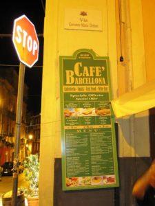 Caffè Barcellona Cagliari
